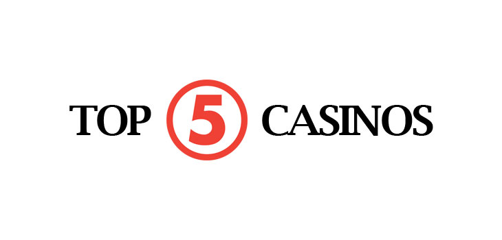 top 5 free spins casinos
